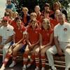 Julie Schreiner (front row, center) - 1968 - Age 14 - 3rd Base - Don's Dairy Queen Softball Team - Yakima, WA