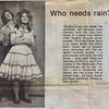"""Julie Schreiner - 1974 (January) - Age 19 - As Snookie in """"110 in the Shade"""" (with Mark Toone as Jimmy) - Yakima Little Theatre - Yakima, WA - Publicity photo from the January 23, 1974 edition of the The Yakima Herald-Republic"""
