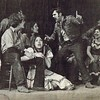 """Julie Schreiner [center floor] - 1974 (January) - Age 19 - As Snookie in """"110 in the Shade"""" (with Mark Toone as Jimmy) - Yakima Little Theatre - Yakima, WA - Publicity photo from the January 23, 1974 edition of the The Yakima Herald-Republic"""