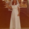 Julie (Schreiner) Yaden - August 31, 1974 - Age 20 - Wedding Reception Photo - Holy Redeemer Catholic Church - Yakima, WA