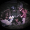 Julie Yaden - 1980 (April) - Age 26 - Helping Danny (age 23 mos) with the Easter Egg Hunt - 7th Avenue Rental House - Yakima, WA (Captured from 8mm film)