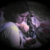 Julie Yaden - 1980 (July) - Age 26 - Barbecue at Summitview Extension Rental House - Yakima, WA (Captured from 8mm film)