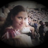 Julie Yaden - 1984 (April) - Age 30 - With the kids at a Seattle Mariner's baseball game in the Kingdome - Seattle, WA (Captured from 8mm film)
