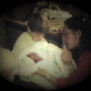 Julie Yaden - 1984 (Oct 19) - Age 30 - Jacob is visited by older brothers Danny (age 6, center) and Matthew (age 3) - Yakima Valley Memorial Hospital - Yakima, WA (Captured from 8mm film)