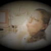 Julie Yaden - 1984 (Oct 18) - Age 30 - Julie distracts herself with a Tootsie Roll Pop as she prepares for the long night ahead - Yakima Valley Memorial Hospital - Yakima, WA (Captured from 8mm film)