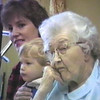 Julie Yaden - 1986 (Dec) - Age 32 - With Jacob (age 2) during family visit with Grandmother Alma Irwin at the Good Samaritan Nursing Home - Yakima, WA (Captured from VHS Video Tape)