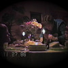 Julie Yaden - 1986 (Nov 27) - Age 32 - With Matthew (age 5, left), Jacob (age 2, under Mom's chin), and Danny (age 8) at the Thanksgiving dinner table - Yellow Farmhouse - Selah, WA (Captured from VHS Video Tape)