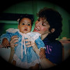 Julie Yaden - 1990 (Sept) - Age 36 - With Alexandria Rose Yaden (age 5 mos) at her welcome to the family party at Carrington Coleman Sloman & Blumenthal (Julie's employer) - Dallas, TX