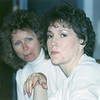 Julie Yaden (right) - 1990 (March) - Age 36 - With clogging friend Janice during trip to California - Sacramento, CA