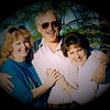 Julie Yaden (right) - 1990 (March) - Age 36 - With friends Mikel & Gene Reierson during trip to California - Sacramento, CA