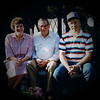 Julie (Schreiner) Yaden - 1992 (April) - Age 38 - With father Mark (Bud) Schreiner and older brother Mike Schreiner - Yakima, WA