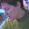 Julie Yaden - 1993 (Feb) - Age 38 - Park Avenue West home - Mansfield, OH (Captured from VHS Video Tape)