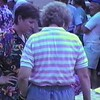 Julie Yaden - 1995 (Aug) - Age 41 - With Ruth Williams at the Baker's Brookfield Park Bluegrass Festival - North Central Ohio (Captured from VHS Video Tape)