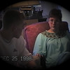 Julie Yaden - 1998 (Dec 25) - Age 44 - With son Matt (age 17) on Christmas Day -  611 Park Avenue West Home - Mansfield, OH (Captured from VHS Video Tape)