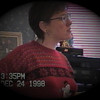 Julie Yaden - 1998 (Dec) - Age 44 - 611 Park Avenue West Home - Mansfield, OH (Captured from VHS Video Tape)