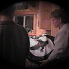 Julie Yaden - 2000 (Oct) - Age 46 - With Jacob (age 16) at the Storm Mountain home - Drake, CO (Captured from VHS Video Tape)