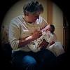Julie Yaden - 2007 (May 25) - Age 53 - Holding new grandson Jacob Benjamin Yaden, Jr. (born May 24) - McKee Medical Center - Loveland, CO