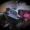 Julie Yaden - 2008 (Dec 25) - Age 54 - On Christmas Day at the Fire Rock Place home - Loveland, CO (Captured from VHS video tape)