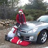 Julie Yaden - 2008 (Dec) - Age 54 - Julie seems a little ho-hum about killing Santa..... - Loveland, CO
