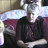 Julie Yaden - 2008 (Dec 25) - Age 54 - On Christmas Day with granddaughter Jaycene (age 4 on Dec 29) - Fire Rock Place Home - Loveland, CO (Captured from VHS video tape)