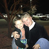 Julie Yaden - March 18, 2013 - With grandson Jacob (age 5) outside the Texas Roadhouse Restaurant following her 59th birthday dinner - Loveland, CO