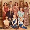 Julie Schreiner [back row middle] - 1970 (Dec) - Age 16 - Schreiner family photo - Yakima, WA <br /> <br /> Back row L to R:  Betty & Mark Schreiner, Julie Schreiner, Mike & Diane Schreiner<br /> Middle row:  Ralph & Alma Irwin (Betty's parents)<br /> Bottom row:  Pat Schreiner, Mike Schreiner Jr., Stephanie Schreiner