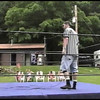Video Archive Clip 1999 (June) - Yaden, Matthew J. - Age 17 - Mercury Matt Yaden spars with Vise and then takes on Osiris in this epic battle at NRW Honeycreek - Honeycreek Valley Campground - Bellville, OH (16 min 5 sec)