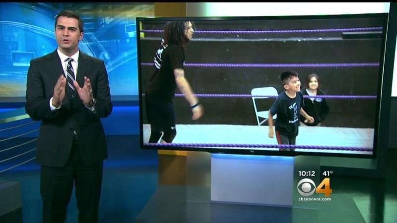 CBS 4 story - Matt's wrestling school