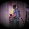 Matthew Joseph Yaden - 1981 (July 3) - Delivery room preparation for Matthew's birth by Dr. Roger Rowles - Yakima Valley Memorial Hospital - Yakima, WA (Captured from 8mm film)