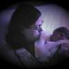 Matthew Joseph Yaden - 1981 (July 3) - Matthew and Mom (Julie) getting acquainted - Yakima Valley Memorial Hospital - Yakima, WA (Captured from 8mm film)