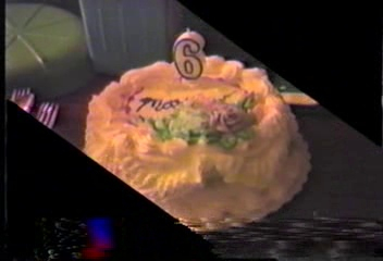 Video Archive Clip 1987 (7) - Yaden, Matthew J. - Matthew's 6th Birthday - Lincoln City, OR - Danny (Age 9), Jacob (Age 2) - Mixed Relations Series - Edited in July 1987 (3 min 4 sec)