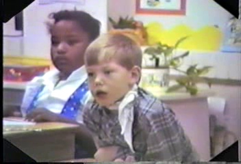 Video Archive Clip 1988 (3) - Yaden, Matthew J. - Matthew (Age 6) In 1st Grade Class - Corsicana, TX - Jacob (Age 3) - Mixed Relations Series - Edited in March 1988 (9 min 8 sec)