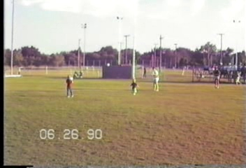 Video Archive 1990 (6) - Yaden, Matthew J. - Matthew (Age 8) Plays Little League Baseball - Corsicana, TX - Jacob (Age 5), Steven (Age 2) - Original VHS Series (8 min 3 sec)