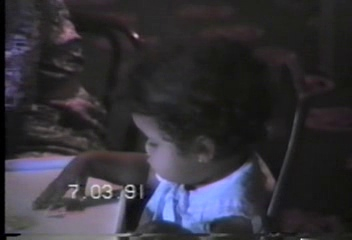 Video Archive 1991 (7) - Yaden, Matthew J. - Matthew's 10th Birthday (July 3) - Chuck E. Cheese's - Tacoma, WA - Danny (Age 13), Jacob (Age 6), Steven (Age 3), Alex (Age 15 mos) - Mixed Relations Series - Edited in July 1991 (6 min 39 sec)