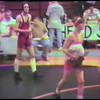 Video Archive Clip 1997 (Feb) - Yaden, Matthew J. - Age 15 - Matt (orange) wrestles for Mansfield Senior High School - River Valley Invitational Wrestling Tournament - Match 4 of 5 - Caledonia, OH - Original VHS Series (8 min 39 sec)