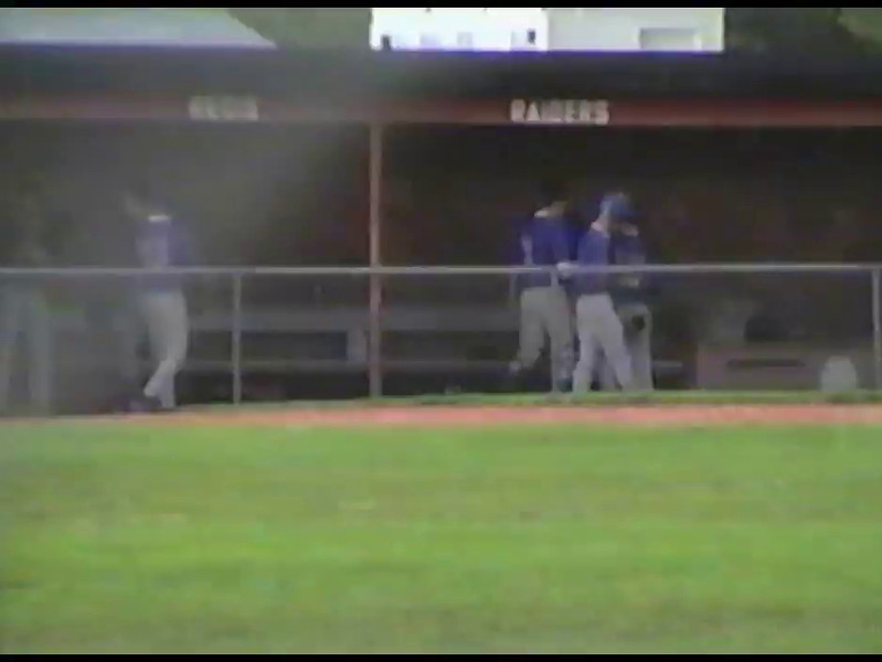 Video Archive Clip 2009 (Sept 13) - Yaden, Matthew J. - Age 28 - Matt plays recreation league baseball - Denver, CO - Original VHS Series (19 min 46 sec)
