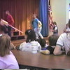 Video Archive Clip 1988 (3) - Yaden, Matthew J. - Matthew (Age 6) In 1st Grade Class Concert - Corsicana, TX - Jacob (Age 3) - Original VHS Series (5 min 9 sec)