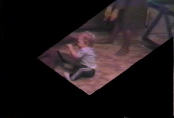 Video Archive Clip 1989 (1) - Yaden, Steven R. - Stevie Crawls! (8 mos) - Beaton Lake Estates Home - Corsicana, TX - Mixed Relations Series - Edited in January 1989 (3 min 51 sec)