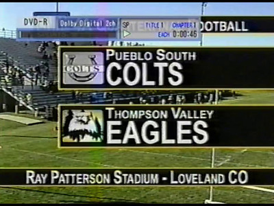Steve Yaden Video 2005 - TVHS vs Pueblo South in Class 4A Playoff - Complete Game