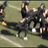 Video Archive Clip 2005 (Nov 19) - Yaden, Steven R. - Age 17 - Steve (#33, fullback, black jersey) plays varsity football for Thompson Valley High School - Class 4A Quarterfinal State Playoffs - Thompson Valley Eagles vs Pueblo South Colts at Thompson Valley - Loveland, CO - Original VHS Series (16 min 6 sec)<br /> <br /> Note: In 2005 the Thompson Valley Eagles captured their first Northern Conference title in 16 years under head coach Clint Fick.  They advanced to the Semifinal State Playoffs where they were defeated by the ThunderRidge Grizzlies.