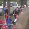 Video Archive Clip 2008 (Nov 15) - Yaden, Steven R. - Age 20 - Steven (#80, black jersey, tight end) plays football for the Doane Tigers (Junior year) - Matt Franzen, Head Coach - Doane College (Tigers) of Crete, NE vs Dana College (Vikings) of Blair, NE - Simon Field at Doane College - Original VHS Series (15 min 58 sec)