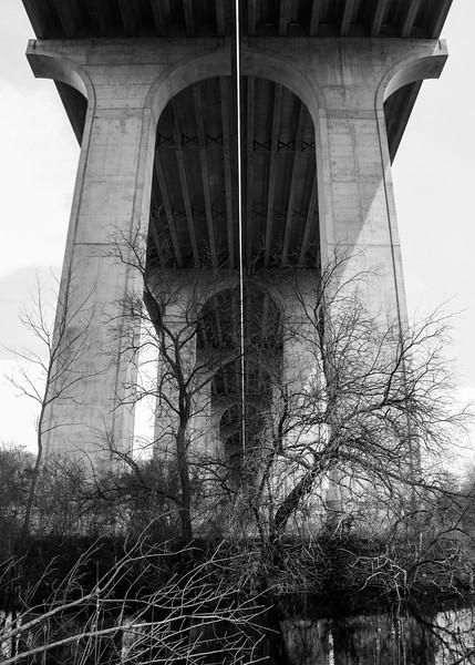 Interstate 80 Bridge, CVNP, April 2011.