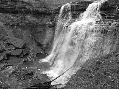 Brandywine Falls, CVNP, Spring Solstice Run, 2016.