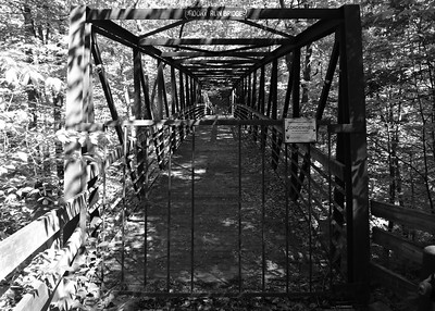 Rocky Run Bridge, Old Carriage Trail, CVNP, May 2017.