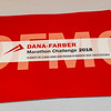 2018 Dana-Farber Marathon Challenge Check Presentation on October 2, 2018.