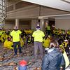 2018 Dana-Farber Marathon Challenge, Recovery Zone at Boston Marriott, Copley.