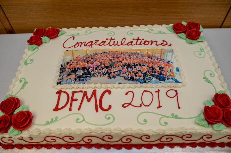2019 Dana-Farber Marathon Challenge Check Presentation on September 25th.