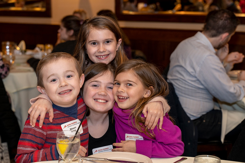 The 2019 DFMC In Memory Dinner where runners and In-Memory families attended a special dinner at Maggiano's on February 7th to reconnect/meet each other.