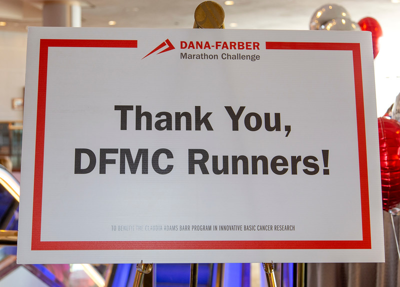2019 Dana-Farber Marathon Challenge (DFMC) Pasta Party on Sunday April 14th at the Boston Marriott Copley Place.