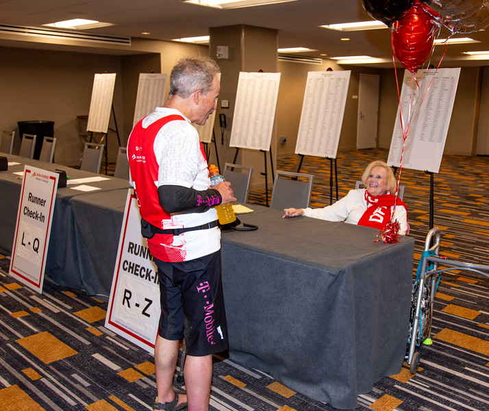 2019 Dana-Farber Marathon Challenge (DFMC) Recovery Zone on Monday April 15th at the Boston Marriott Copley Place.